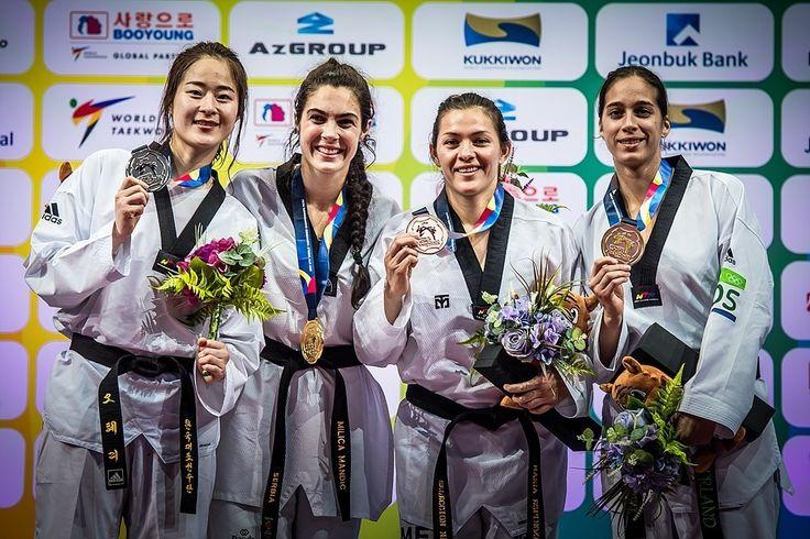 MILICA MANDIĆ - World Taekwondo Champion 2017 | МИЛИЦА МАНДИЋ - светска теквондо шампионка  2017 | Photo: World Taekwondo