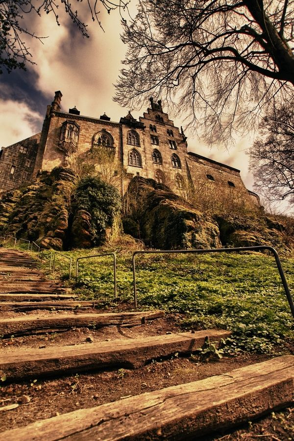 Schloss Bad Bentheim, Germany... I'd love to go to Germany someday. If not New Zealand then please Germany! :)