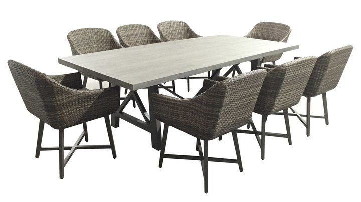 Armarda 8 Seater Outdoor Dining Set | Furniture Online