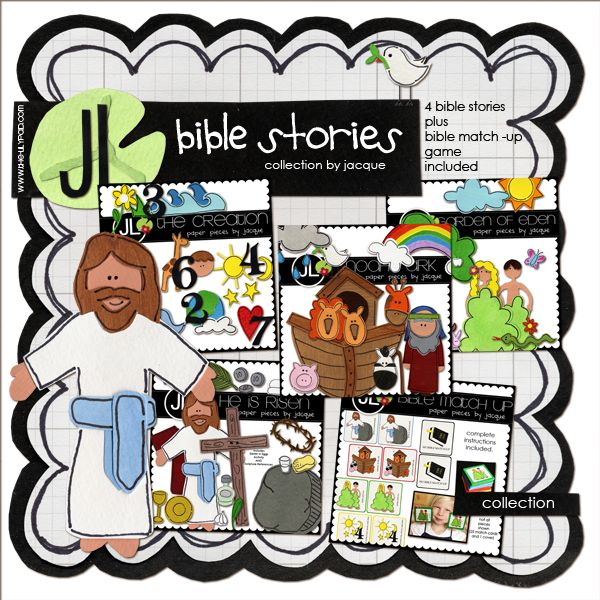Bible Stories Collection by Jacque