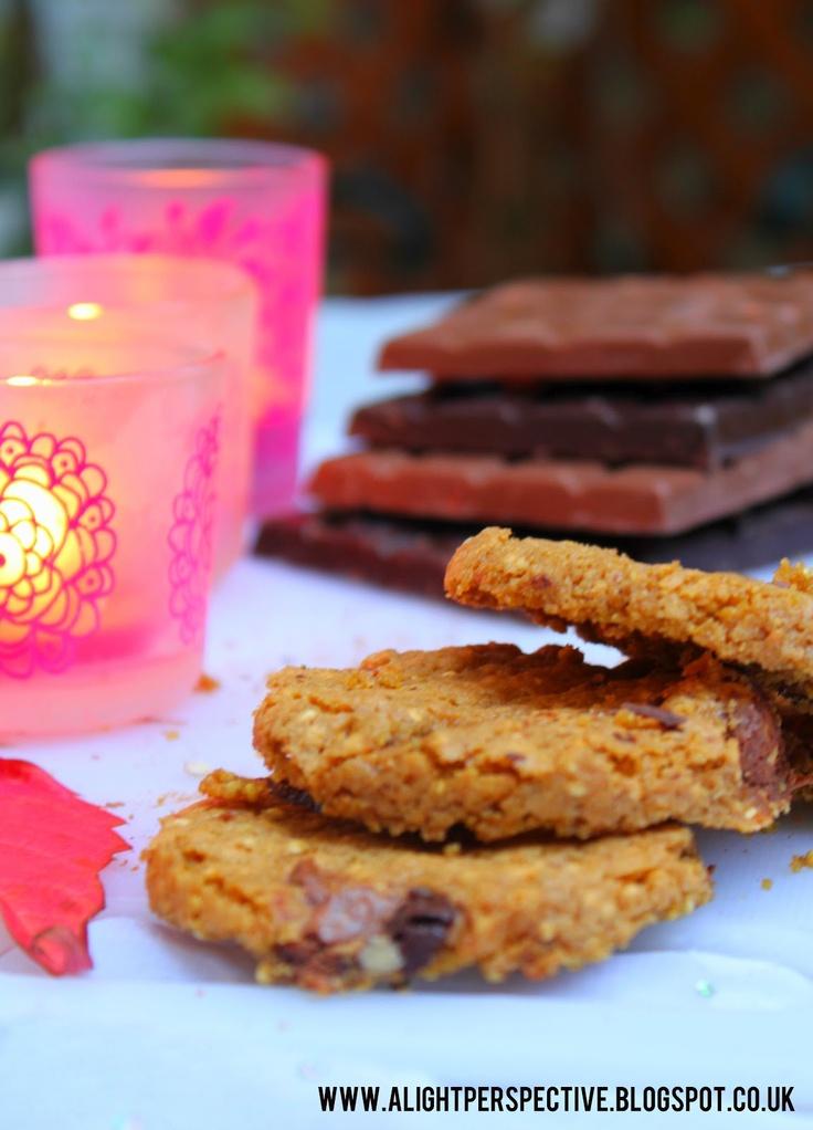 Quinoa & Chocolate Chip Cookies | tasty treats | Pinterest