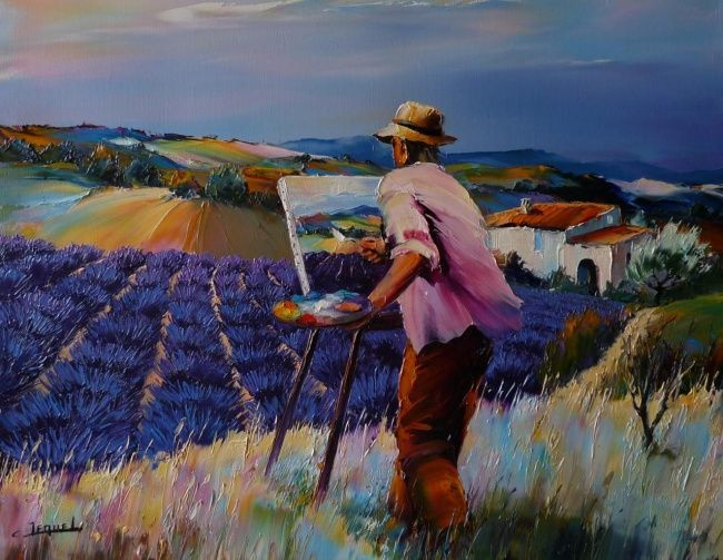 Breathtaking Oil Paintings of France by Christian Jequel • Photo Vide