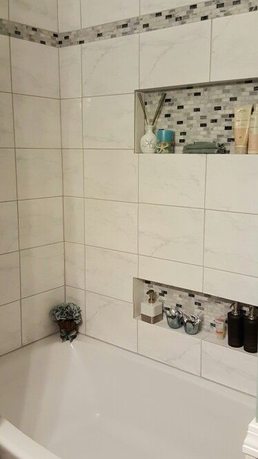 Bathtub and tile surround.  You guys did awesome!!!