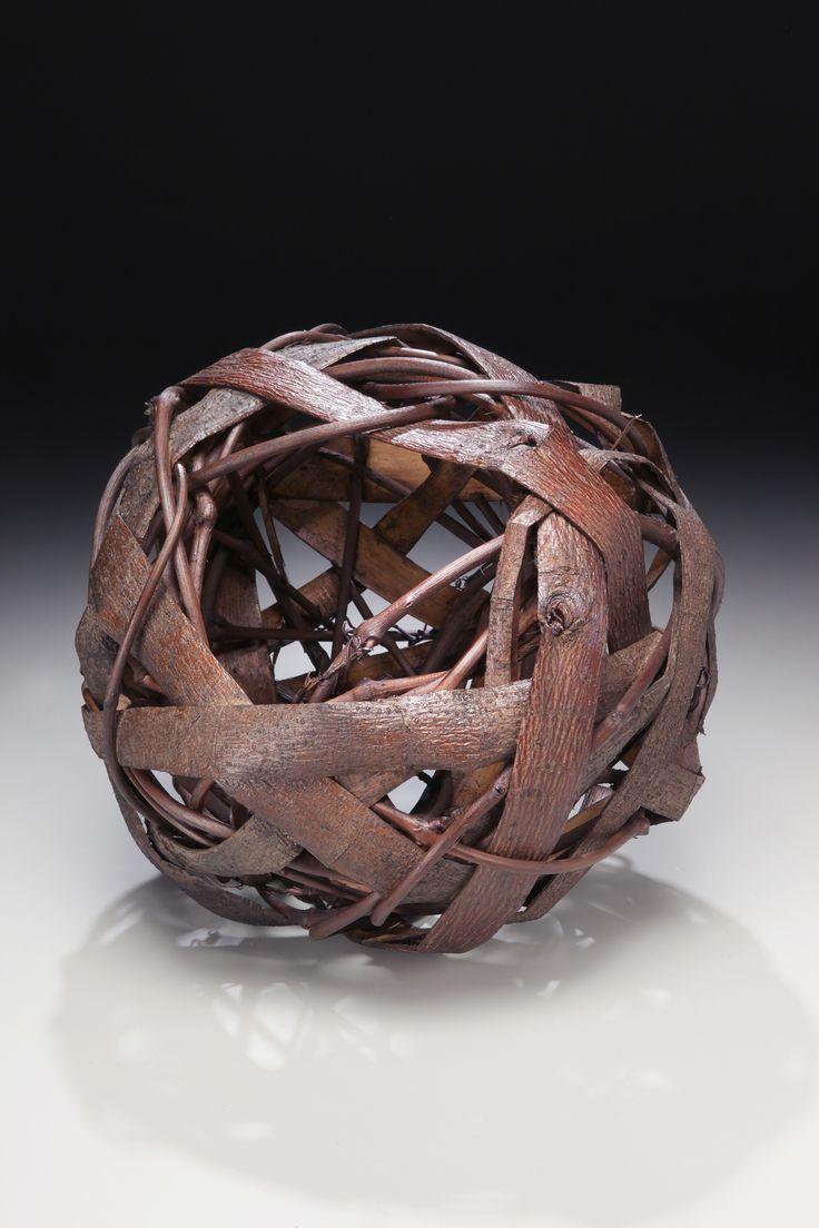 Basket Weaving Vancouver Bc : Http matttommey random weave bark vine vessel