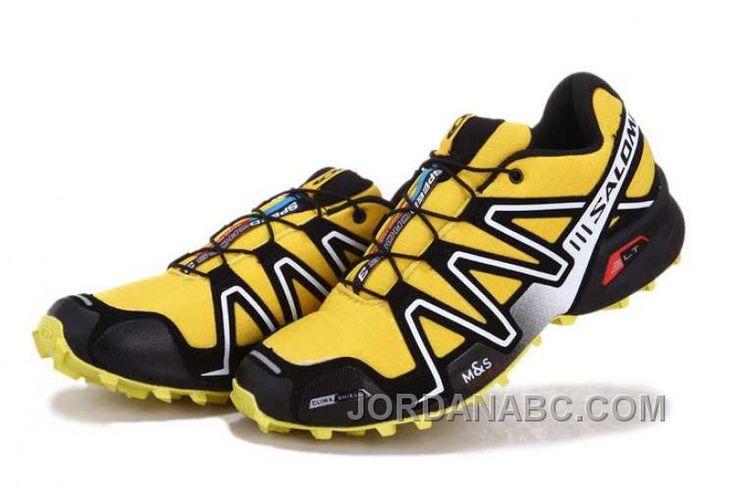 http://www.jordanabc.com/salomon-speedcross-3-mens-yellow-silver-black-for-sale.html SALOMON SPEEDCROSS 3 MENS YELLOW SILVER BLACK FOR SALE Only $74.00 , Free Shipping!