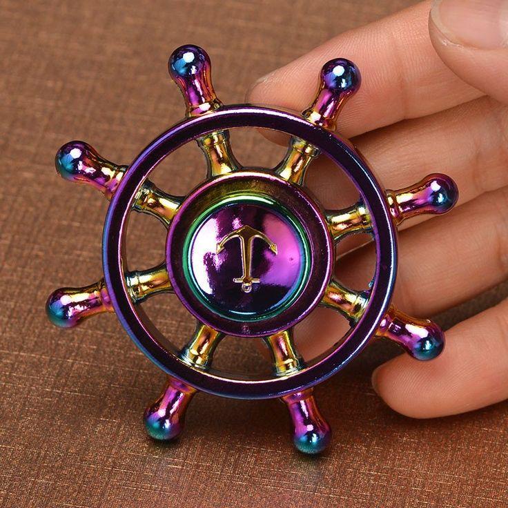 Chrome Anchor Spinner