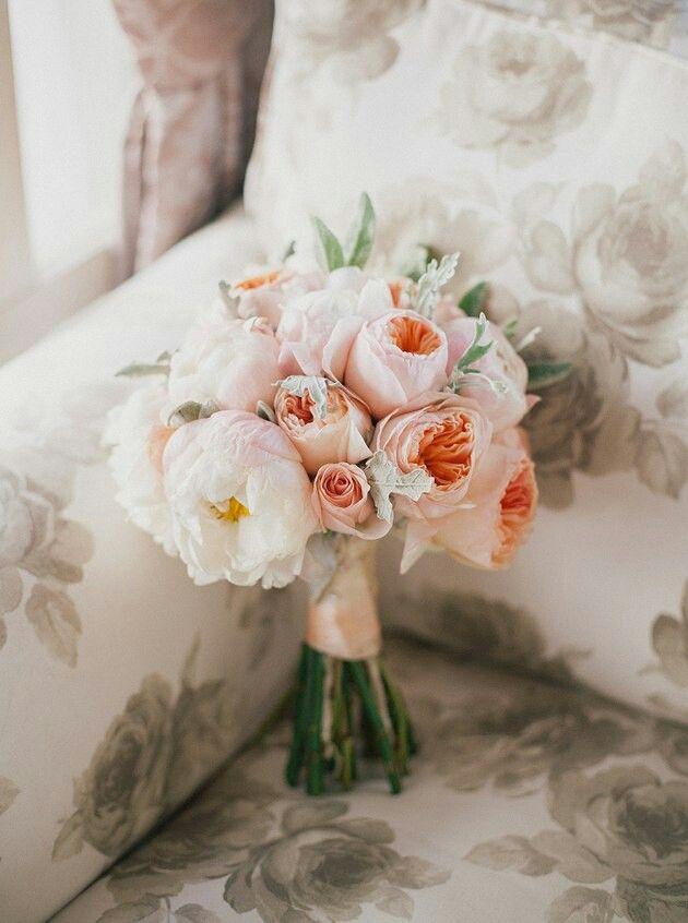 wedding bouquet .Свадебные букеты. Пионы.