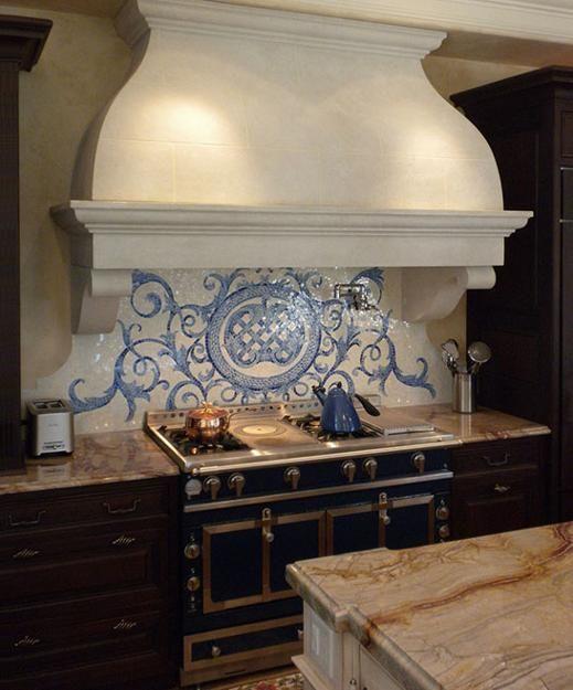 30 Amazing Design Ideas For A Kitchen Backsplash: 218 Best Kitchen: Range Hoods/Mantels/Arches Images On