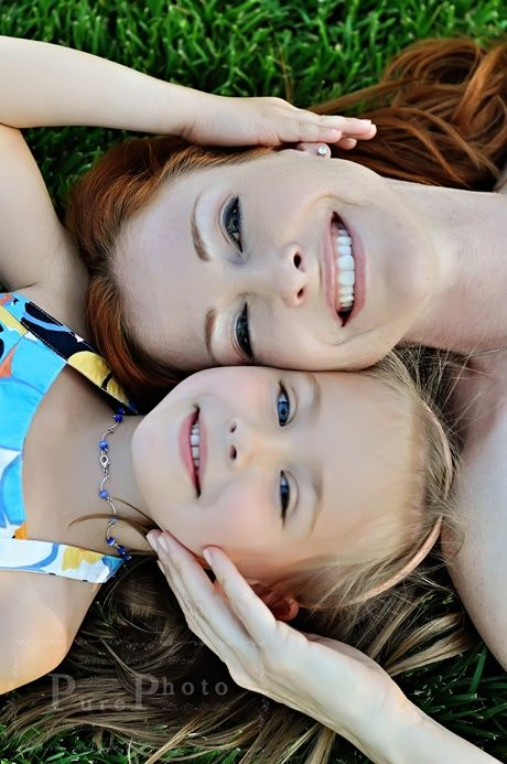 I wish my mom and I had pics like this when I was little. I will make it a priority for my family to take a million pictures and have a few photo shoots