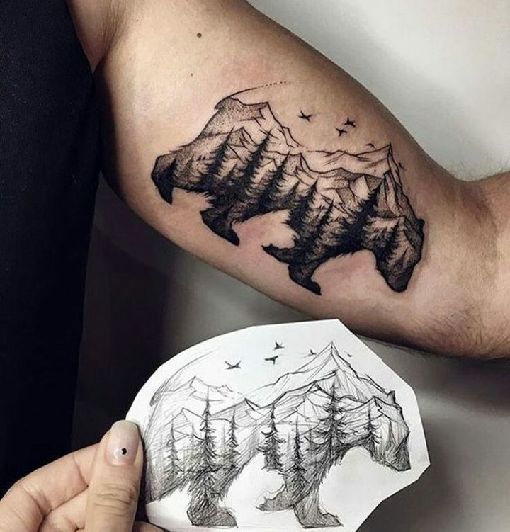 Tatuajes Para Hombres Ideas Creativas Increibles Tatto - Tatuajes-modernos-para-hombres