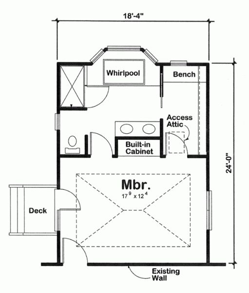 24 best master bedroom floor plans with ensuite images on pinterest master bedrooms Master bedroom addition plans