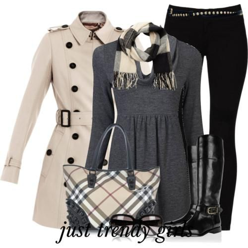 outfits burberry | For more updates visit our facebook page Just for trendy girls