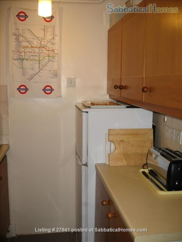 Home for Rent Cosy 1 bed flat-Hampstead Heath/Highgate-Quiet area-NW5 -no extra charges-Available  APRIL 9, 2017 - 3 month  minimum-negotiable  London United Kingdom