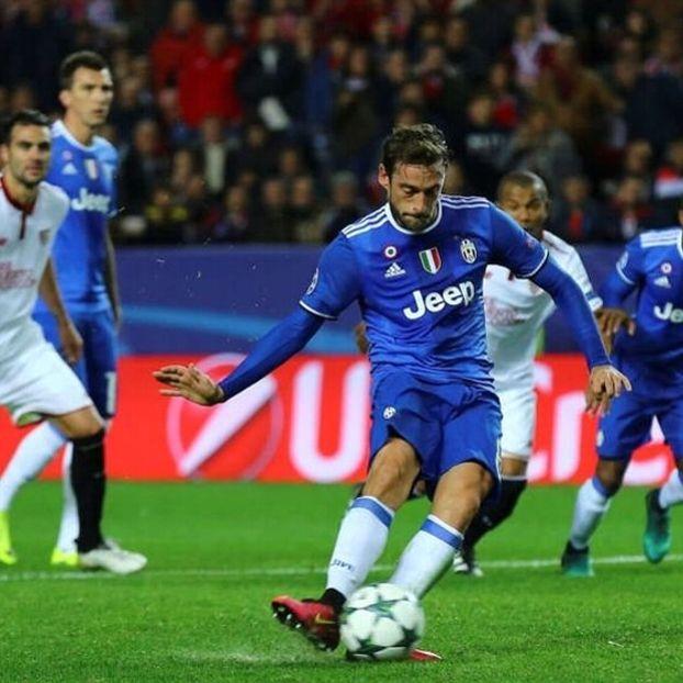 Claudio #Marchisio pareggia dal dischetto