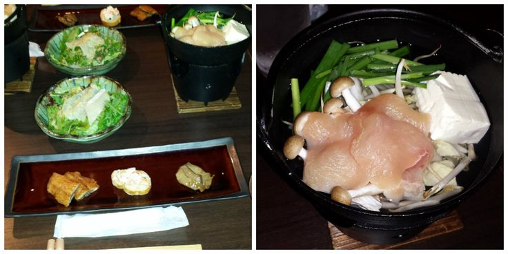 Kyoto, Japan 2015. Sample of the many meals that you can purchase in the restaurants in Kyoto