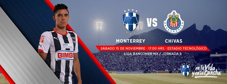 Sábado 15 de noviembre a las 17:00hrs en el Estadio Tecnológico se disputará el partido pendiente vs. Chivas de la Jornada 8 de la LIGA Bancomer MX.