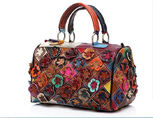 Hand Bag Shoulder Bag Women's Genuine Leather Patchwork F... https://www.amazon.com/dp/B01NACESR5/ref=cm_sw_r_pi_dp_x_v3.rybSB5XBT3