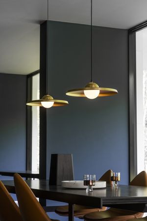 Price above excludes vat with a simple and sleek spun brass shade the sedge pendant lamp is finished by hand with understated brass industrial inspired