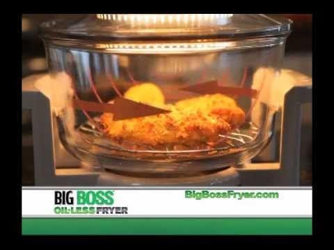 Big Boss Oil Less Fryer - YouTube