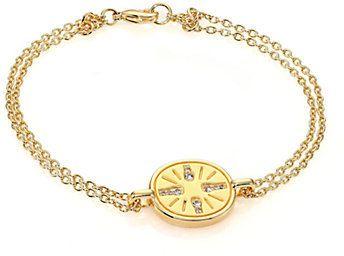 Elizabeth and James Rizzi Pavé White Topaz Bracelet on shopstyle.com