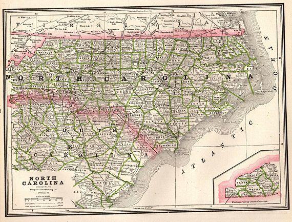 Best North Carolina Map Ideas On Pinterest Map Of Nc Map Of - No carolina map