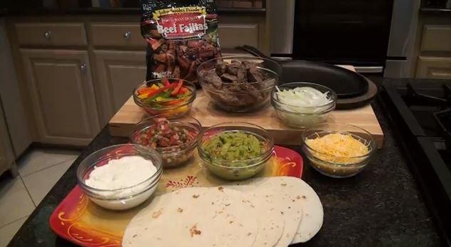 John Soules Foods Beef Fajitas Recipe