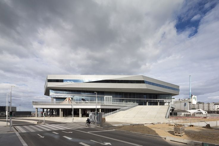 Dokk1: grootste bibliotheek van Scandinavië - architectenweb.nl