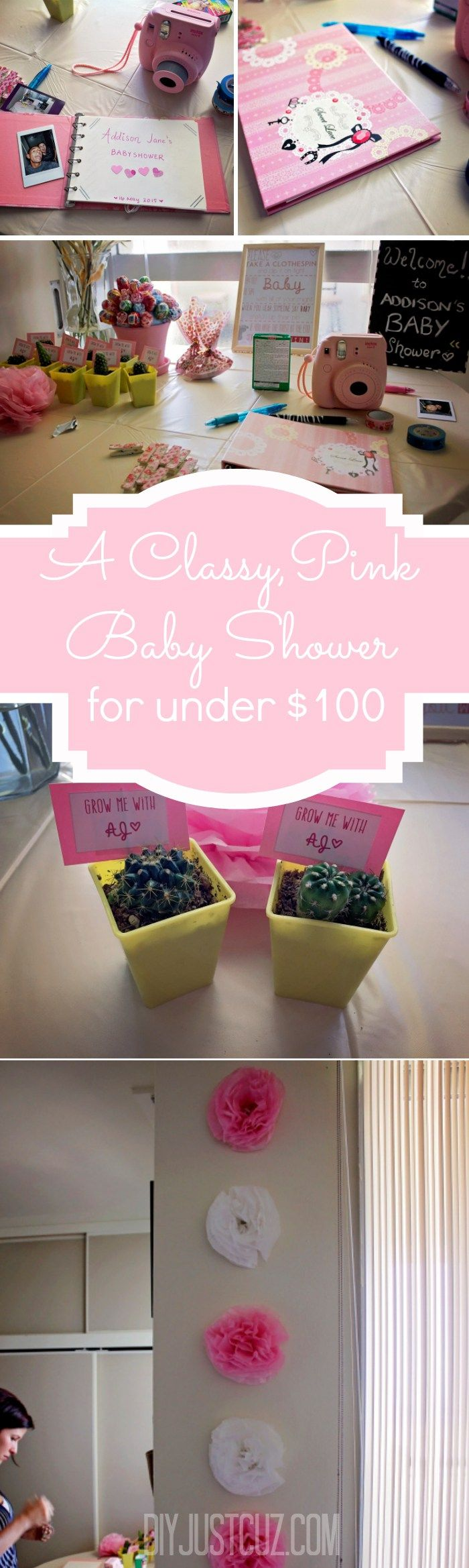 party planning and diy projects to throw a baby shower on a budget