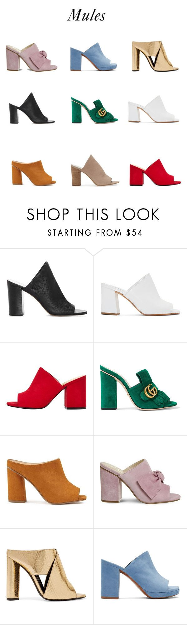 """""""Mules"""" by yourstylemood ❤ liked on Polyvore featuring 1.State, Maryam Nassir Zadeh, Gucci, Miss Selfridge, Tom Ford and Robert Clergerie"""