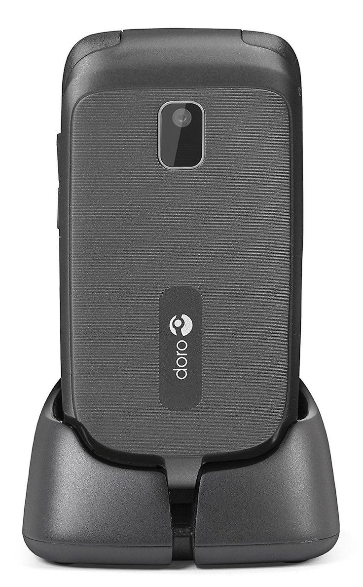 Doro Phone Easy 612 GSM Sim Free Mobile Phone - Black - hearing aid compatible