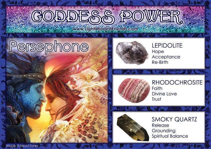 Goddess Power: Persephone!