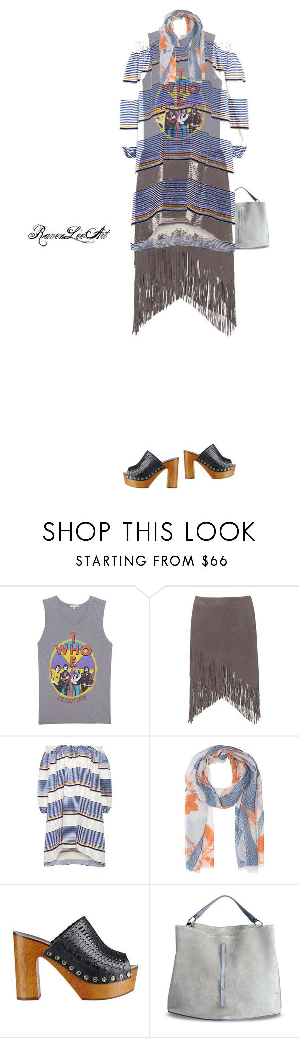 """""""The Who"""" by ravenleeart ❤ liked on Polyvore featuring Junk Food Clothing, True Religion, Tanya Taylor, Friendly Hunting, Sigerson Morrison and Maison Margiela"""