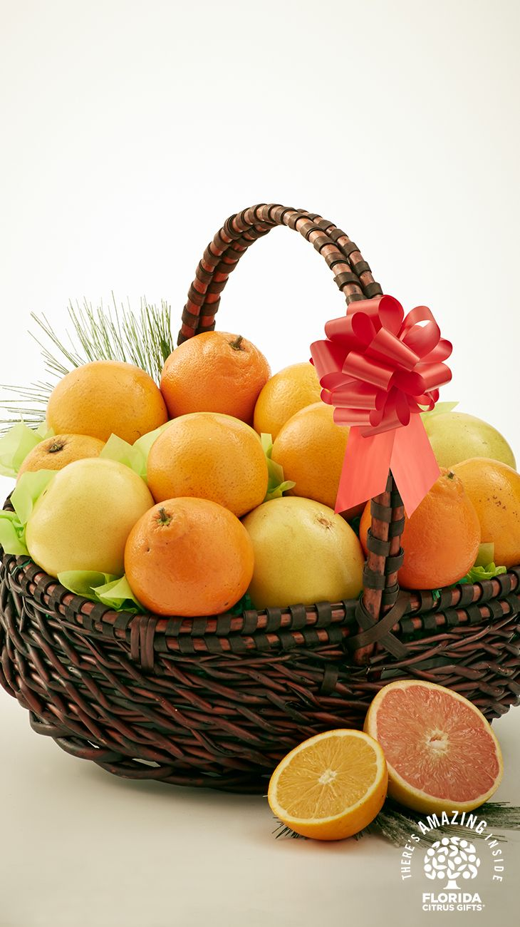 Send a basket of sunshine straight from the Florida Citrus Groves this holiday season. Sweet, juicy and fragrant Florida Oranges, Grapefruit and Tangerines ...