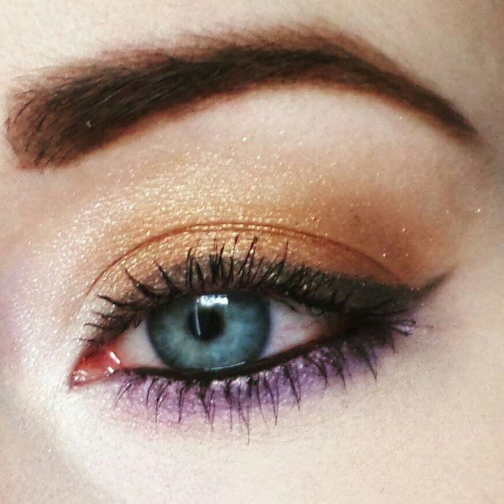Fiolet #makeup #martuszkowemakijaze