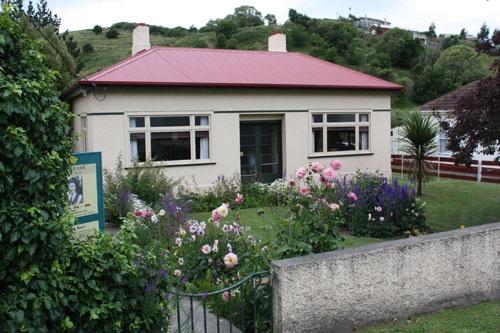 Janet Frame's house in Oamaru
