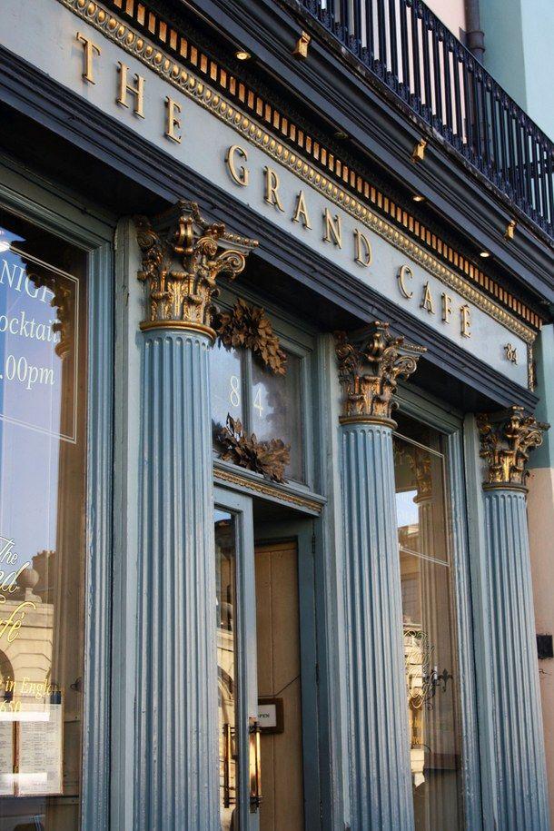 The Grand Cafe, Oxford, England                                                                                                                                                                                 More