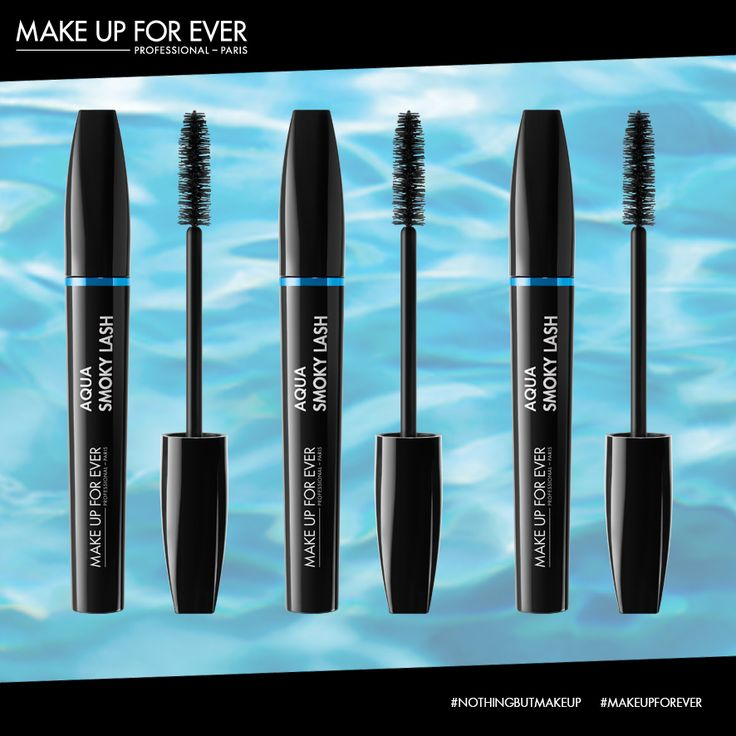 With its ultra-high concentration of pigments, this waterproof formula coats the lashes with intense black colour that perfectly resists water, perspiration and tears. Under a spray of water, at the beach, or in the swimming pool, Aqua Smoky Lash will not run. www.mediamakeupstore.com #MediaMakeupAU #MakeUpForEVer