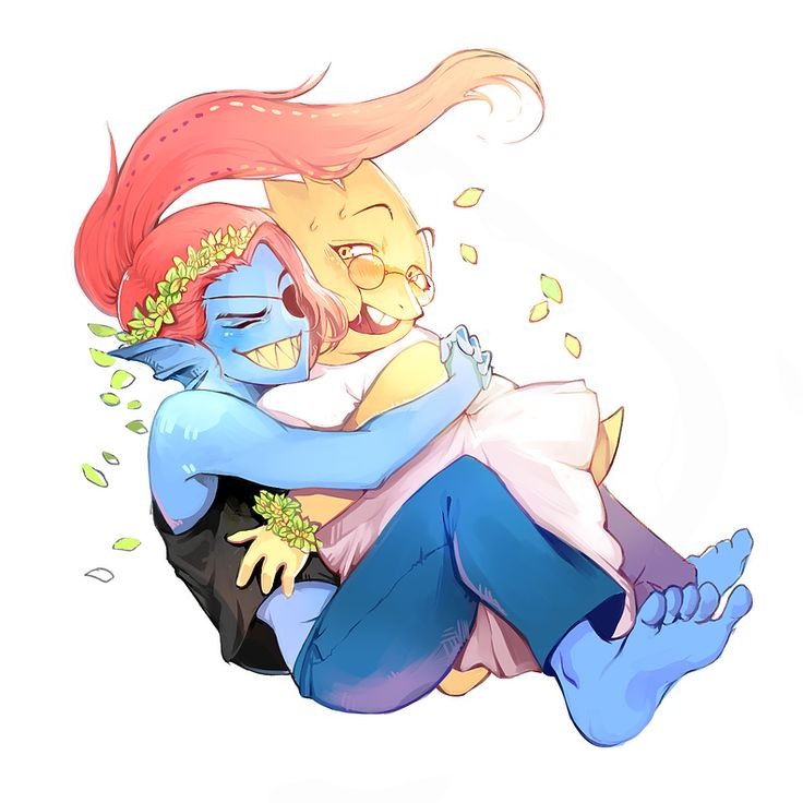 undertale alphys and undyne - photo #28