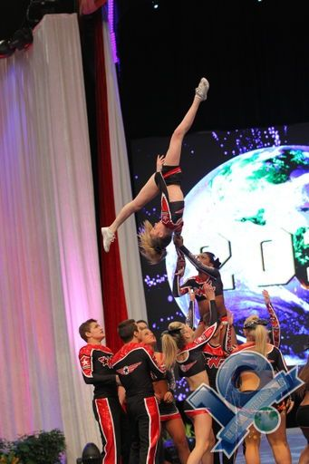 The Cheerleading Worlds 2013 Woodlands Elite Black Ops