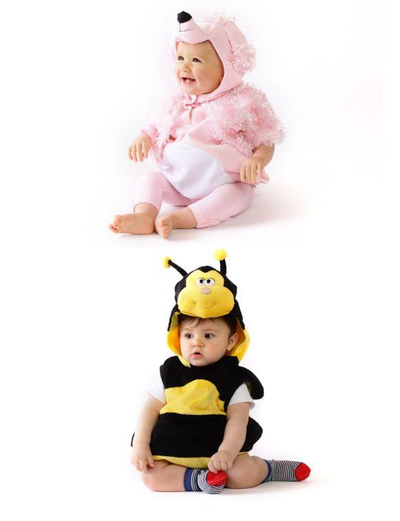 Disfraz de poodle y de abeja. Tallas 6M - 12M y 36M. #Opaline #Halloween #Fashion #Kids #Babys #Moda #Bebe #Nino #Disfraces www.facebook.com/ComunidadOpaline