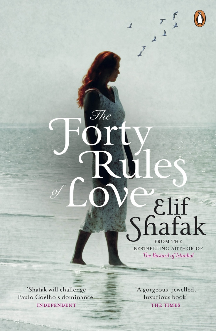 The British cover of Forty Rules of Love (Penguin UK-softcover)- Aşk'ın İngilizce baskısının kapağı (Penguin UK)