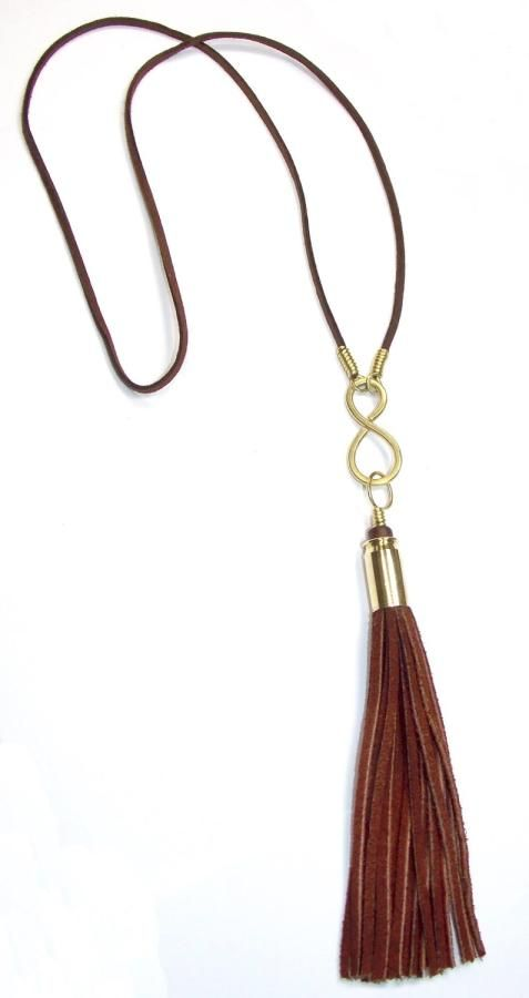 45 Automatic Infinity Tassel Necklace by Spaghetti Western
