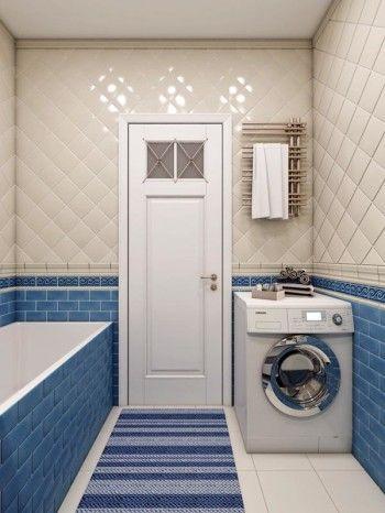 Интерьер ванной комнаты от дизайнера Алены Литвиненко
