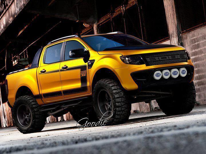 boss ford ranger - Ford Ranger 2014 Lifted