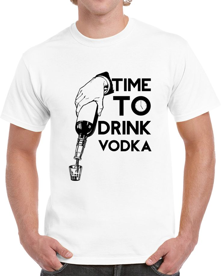 Time To Drink Vodka T Shirt
