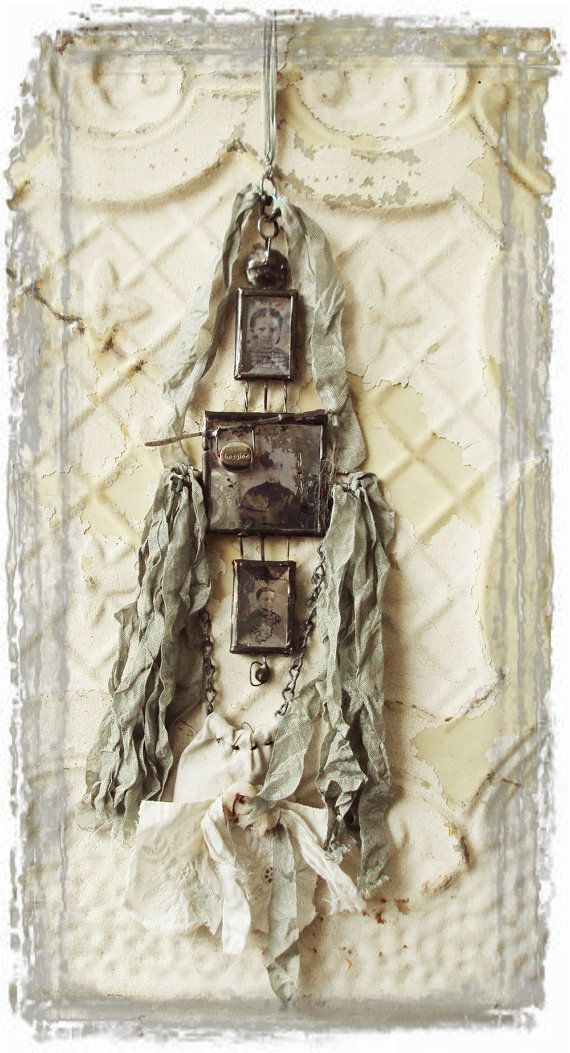 MOSS HILLCollage Alt, Altered Jewelry, Art Inspiration, Moss Hills, Mixed Media, Goodies Vintage, Altered Art, Moss Hill Studio, Hills Studios