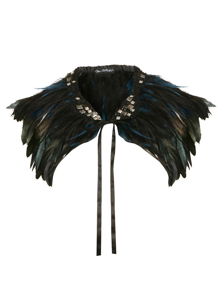 diy feather cape inspiration