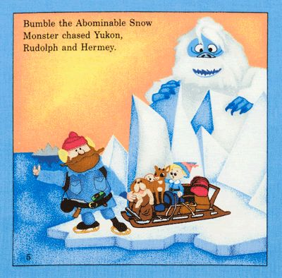 Image result for rudolph bumble cartoon