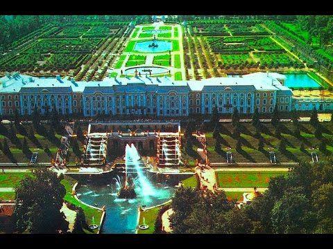 """Петергоф - дворцы, парки и фонтаны. """"Обстоятельное путешествие""""  Петербу..."""
