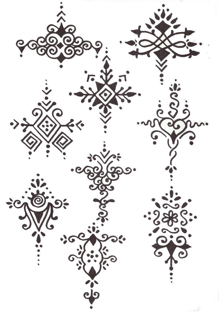 Geography for Kids: India henna designs to go with my henna arm